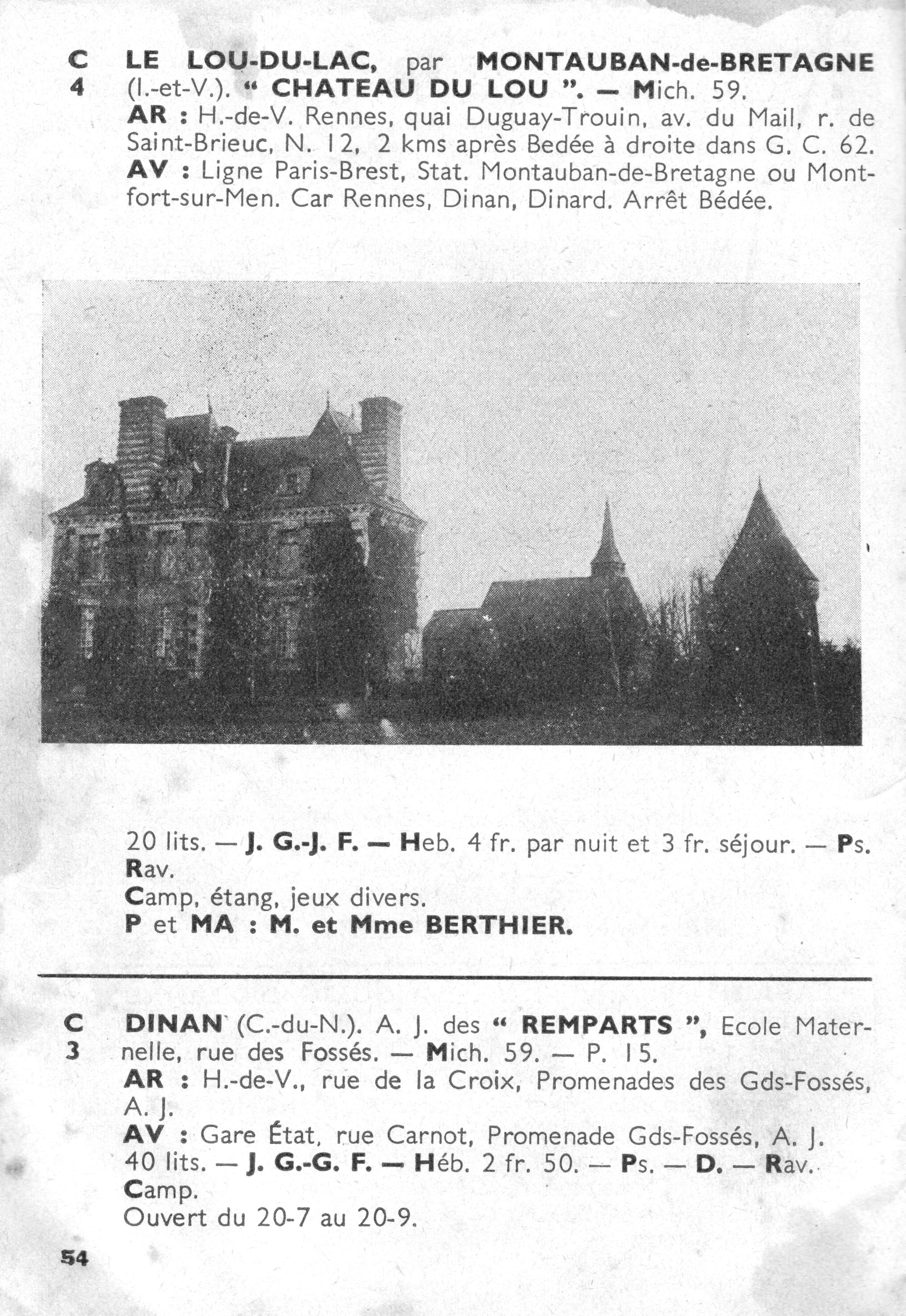 1937 (Guide des auberges de jeunesse) - 4